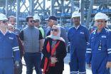 نائبة مدير شؤون الرقابة البيئية تزور مصفاة الزور لعقد اجتماع في الشركة الكويتية لصناعات البترولية