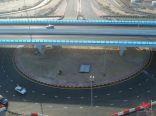 رسميًا| إفتتاح جسر تقاطع الغوص مع خالد بن عبدالعزيز