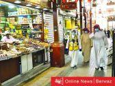 محافظ العاصمة يتفقد سوق الخضار والفواكه بمنطقة أسواق المباركية