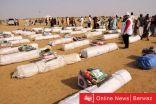 الهلال الأحمر الكويتي ينشأ مخيم إيواء للمتضرريين من السيول والفيضانات شمال الخرطوم