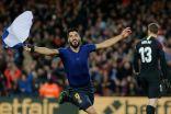 برشلونة يصعق أتليتكو مدريد بثنائية ويقترب من لقب الدوري الاسباني