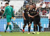 مانشستر سيتي يبدأ مشواره في الدوري الانجليزي بفوز ساحق