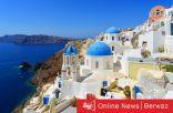 أويا سحر جزيرة سانتورينى اليونانية