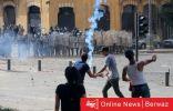 فوضى في بيروت….غاز مسيل للدموع ورصاص واقتحام مبنى وزارة الخارجية