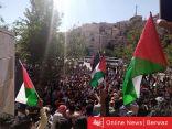 هاشتاج #يلا_على_الحدود  يجمع الاف الأردنيين في مظاهرات تضامنية أردنية على الحدود الفلسطينية