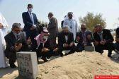الجالية الأردنية في زيارة لقبر الأمير الراحل الشيخ صباح الأحمد