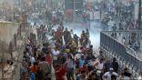 الأمن العراقي يستخدم الرصاص الحي ضد المتظاهرين !