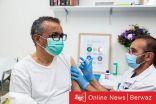رئيس منظمة الصحة العالمية يتلقى اللقاح المضاد للكورونا